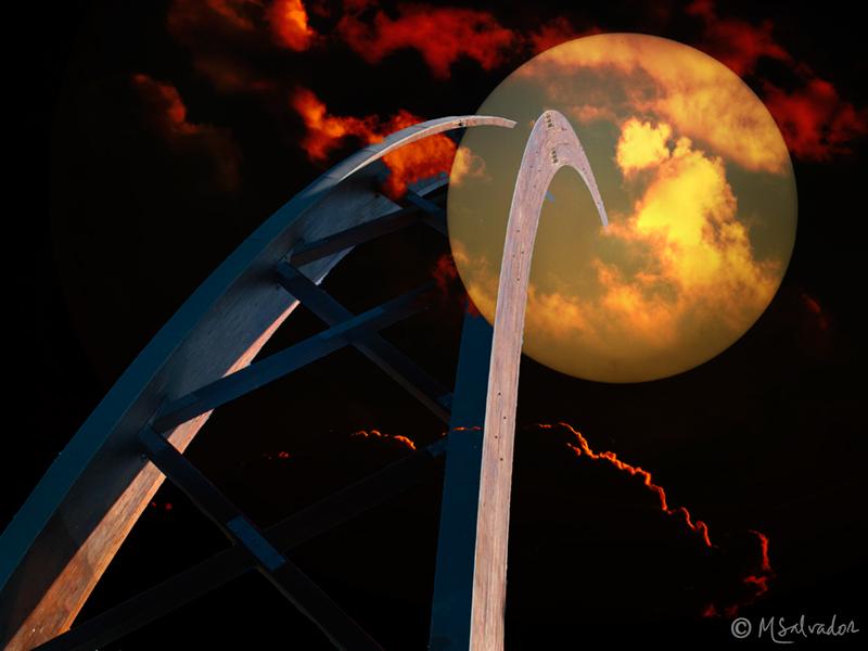 The bridge to the moon