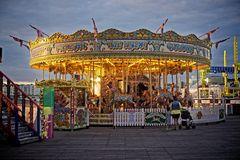 The Brighton Pier's Horses