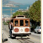 The Cable Car from Alcatraz