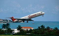 The Caribbean Sea MD-80