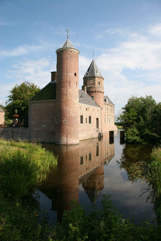 The castle of the sleeping beauty