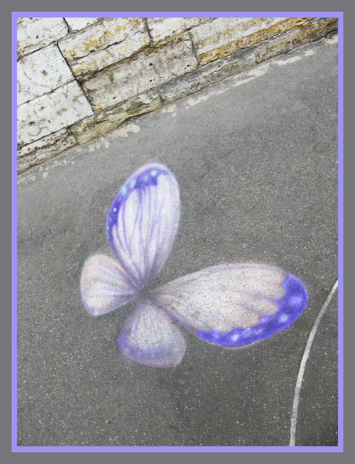 The cement butterfly