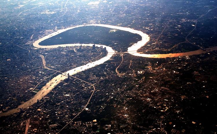 The Chao Praya River