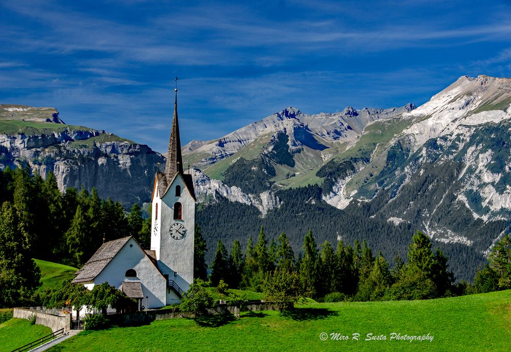 The church in the mountains
