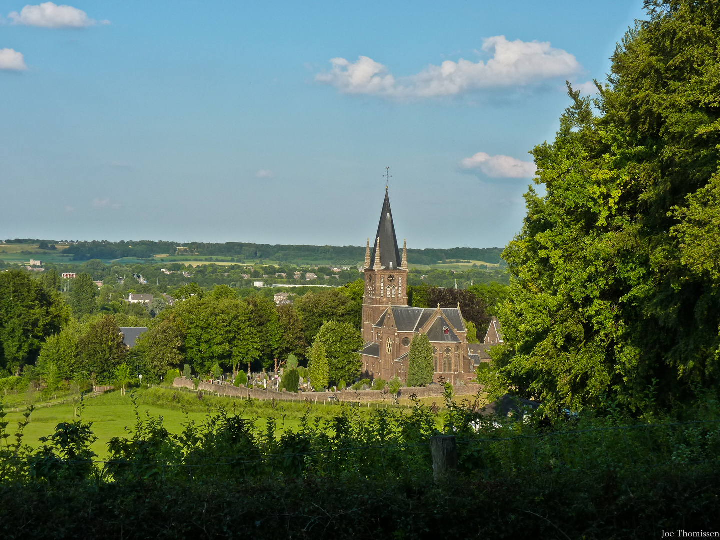 The church of St. Peter's Top near Maastricht