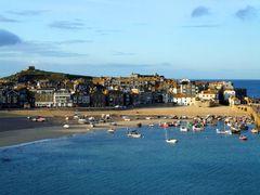 The City of St. Ives on the Cornish Coast