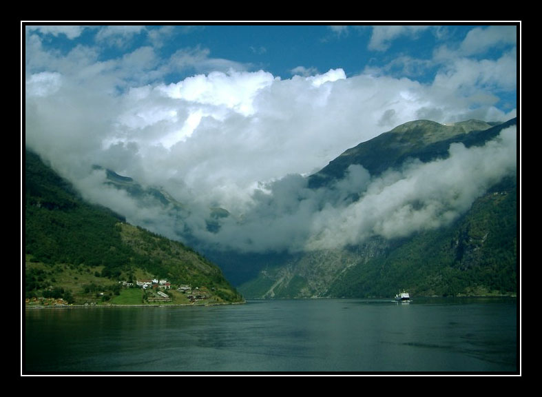 The Clouds of Geiranger