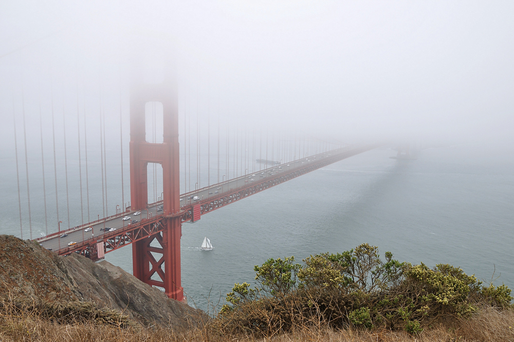 The coldest winter I ever spent was a summer in San Francisco