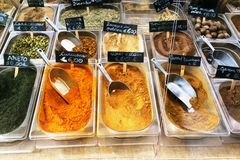 The Colors of Spices
