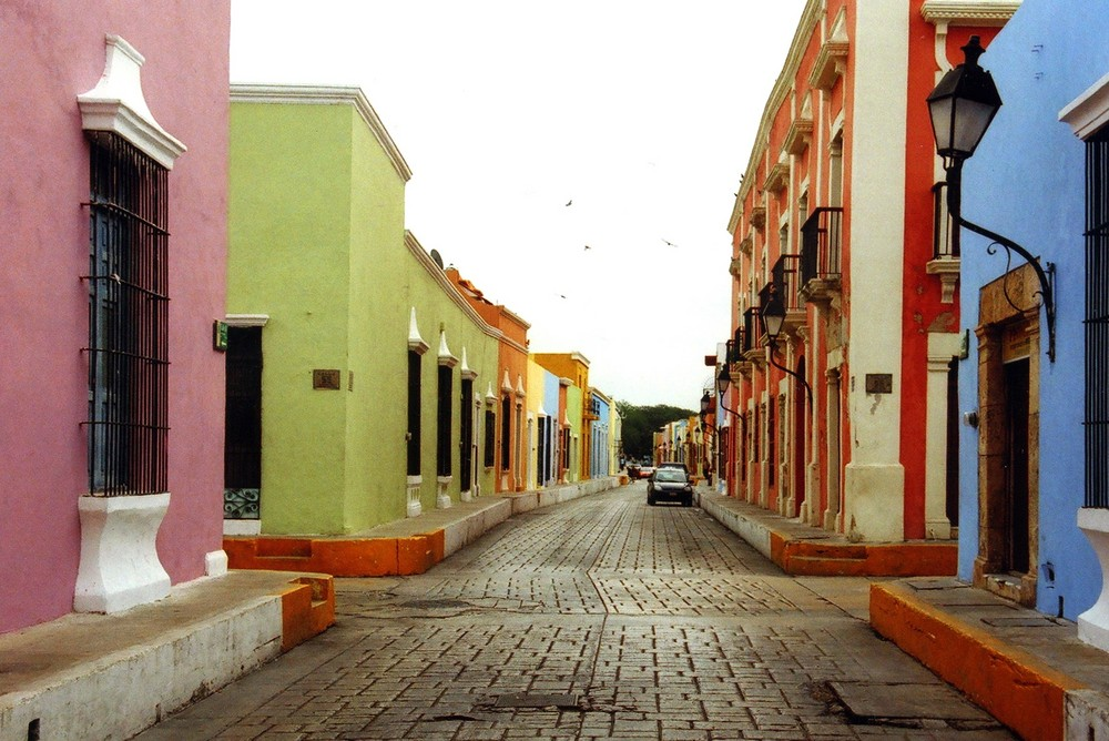 The Colours of Campeche in Mexico