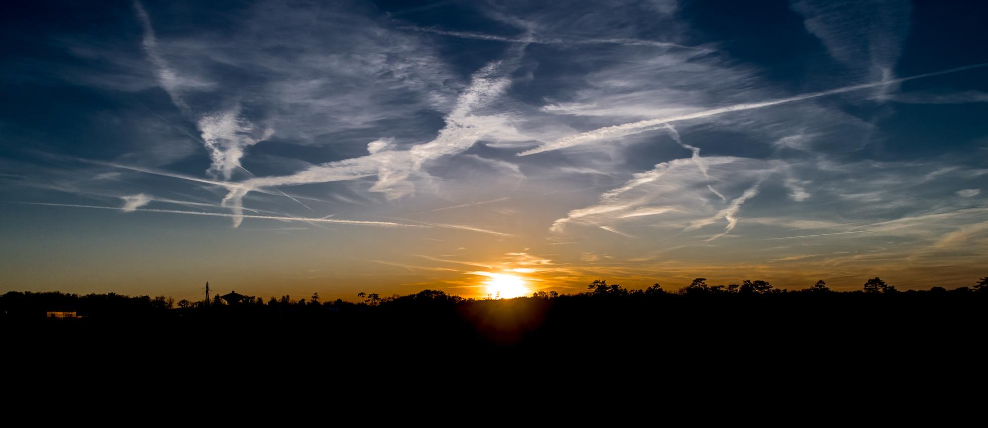 THE coucher de soleil