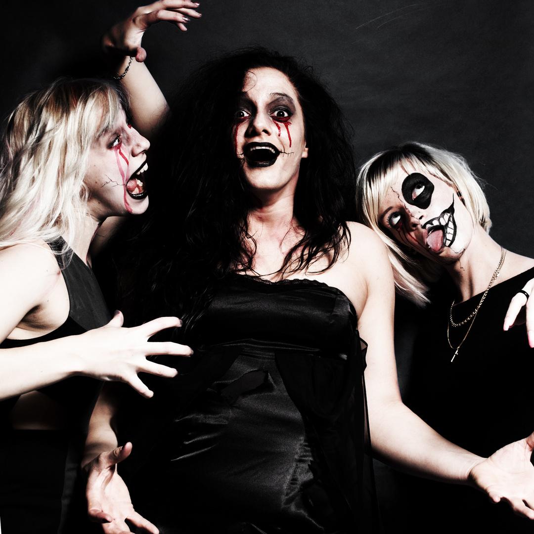The creepy three