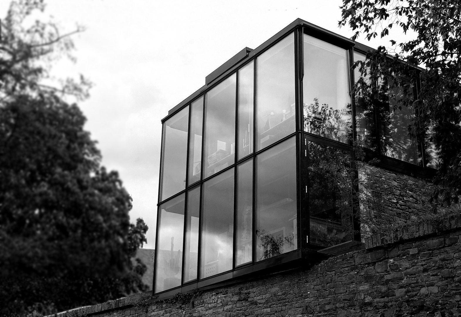 [ the cube; bw ]