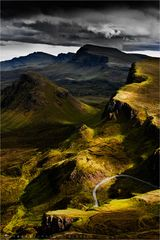 The Curve by the Quiraing.