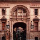 The Dakota. Entrance of John Lennon's home in the Manhattan