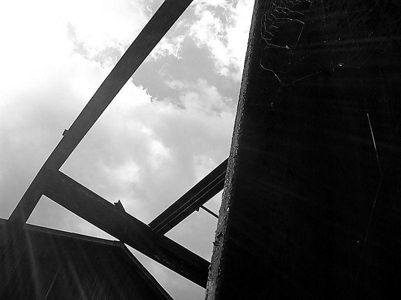 The dark sight of the steel