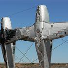 ** The Desert  Sculpture of  Plane Henge /  Oodnadatta Track **