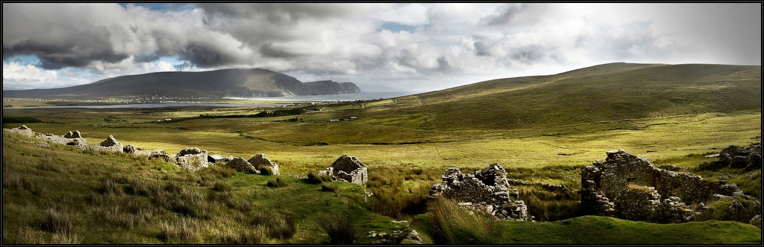 The Deserted Village at Slievemore
