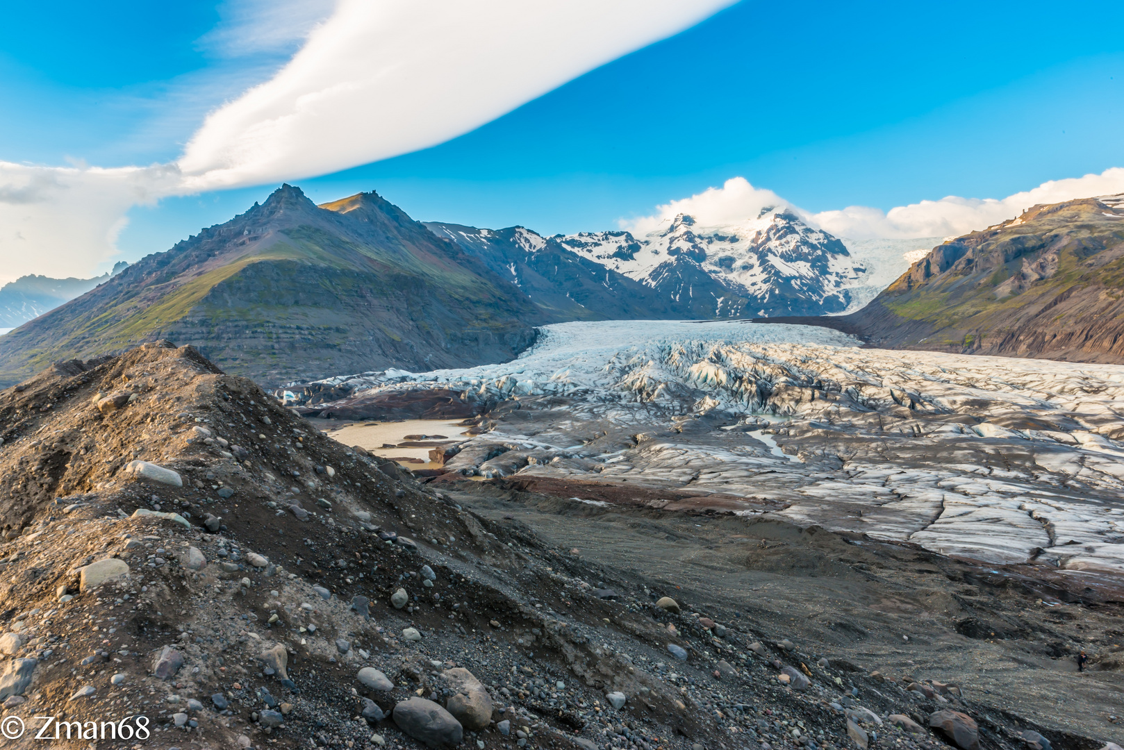 The Dike and the Glacier