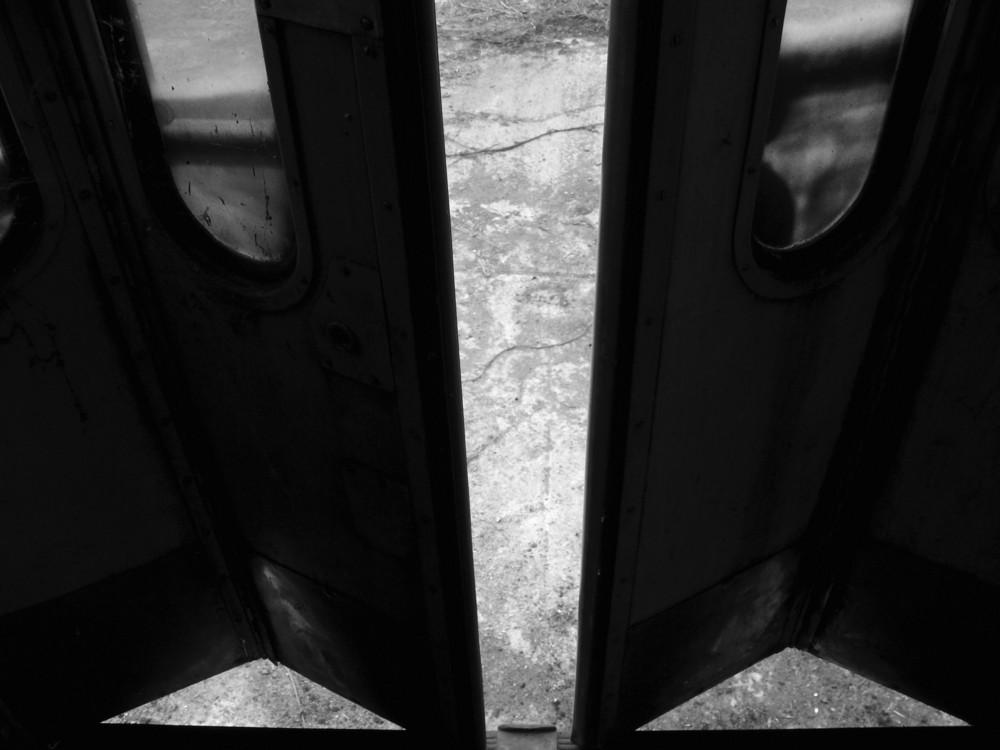 the door is opening