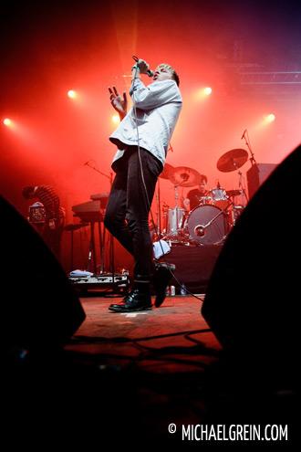 The Drums live auf dem Dour Festival 2011