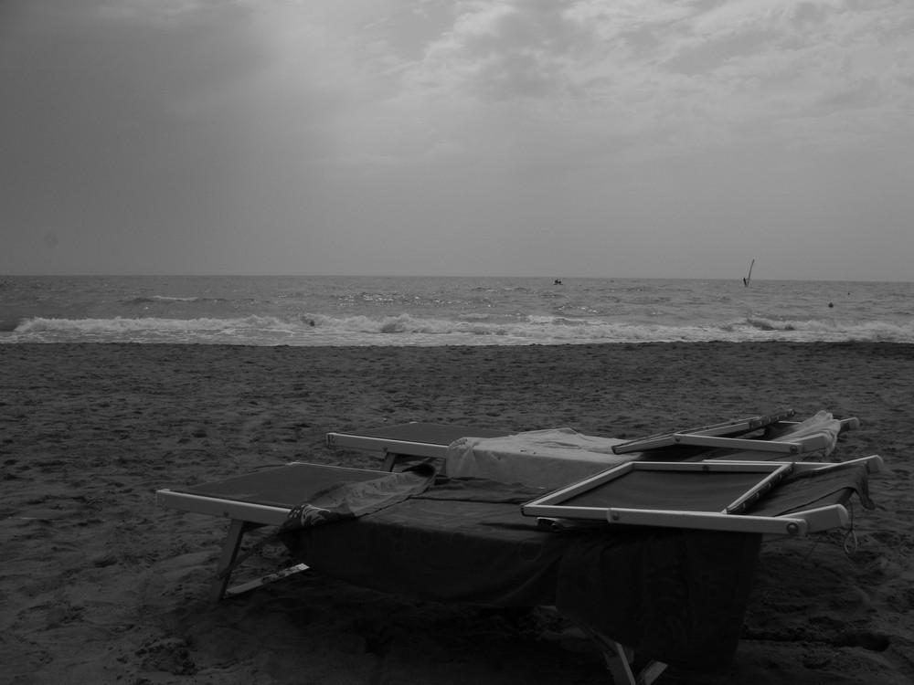 The end of summer (ostia beach)
