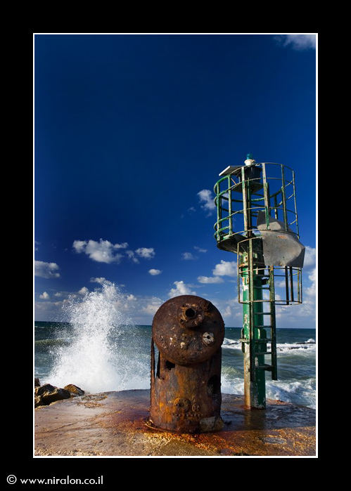 The end of the breakwater