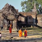"The entrance trough the ""Naga gate"" at Prasat Preah Vihear"