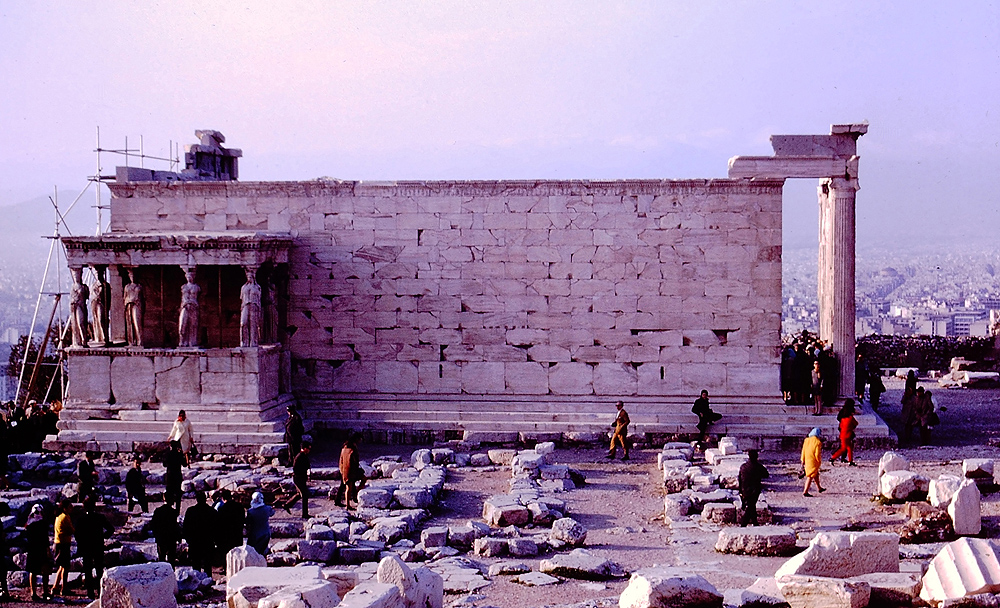 THE ERECTHEION - ACROPOLIS - ATHENS