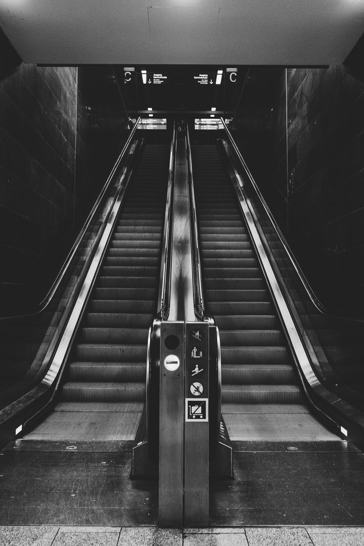 The Escalator.