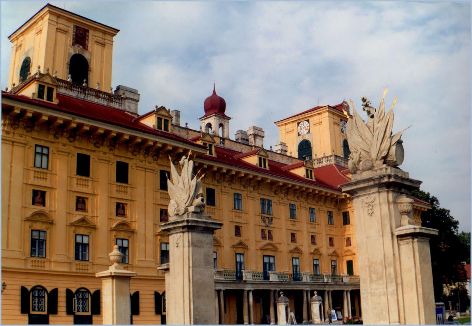 THE ESZTERHAZY PALACE - EISENSTADT - AUSTRIA