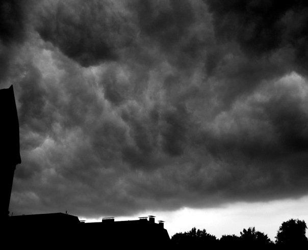 The evil in clouds
