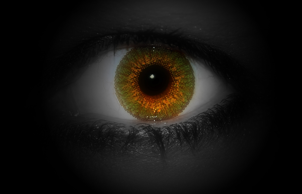 the eye . . .