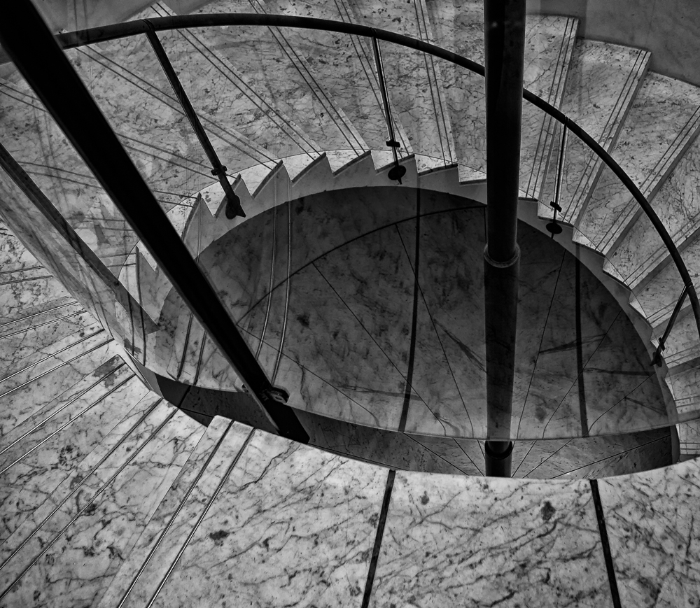 the eye of a staircase