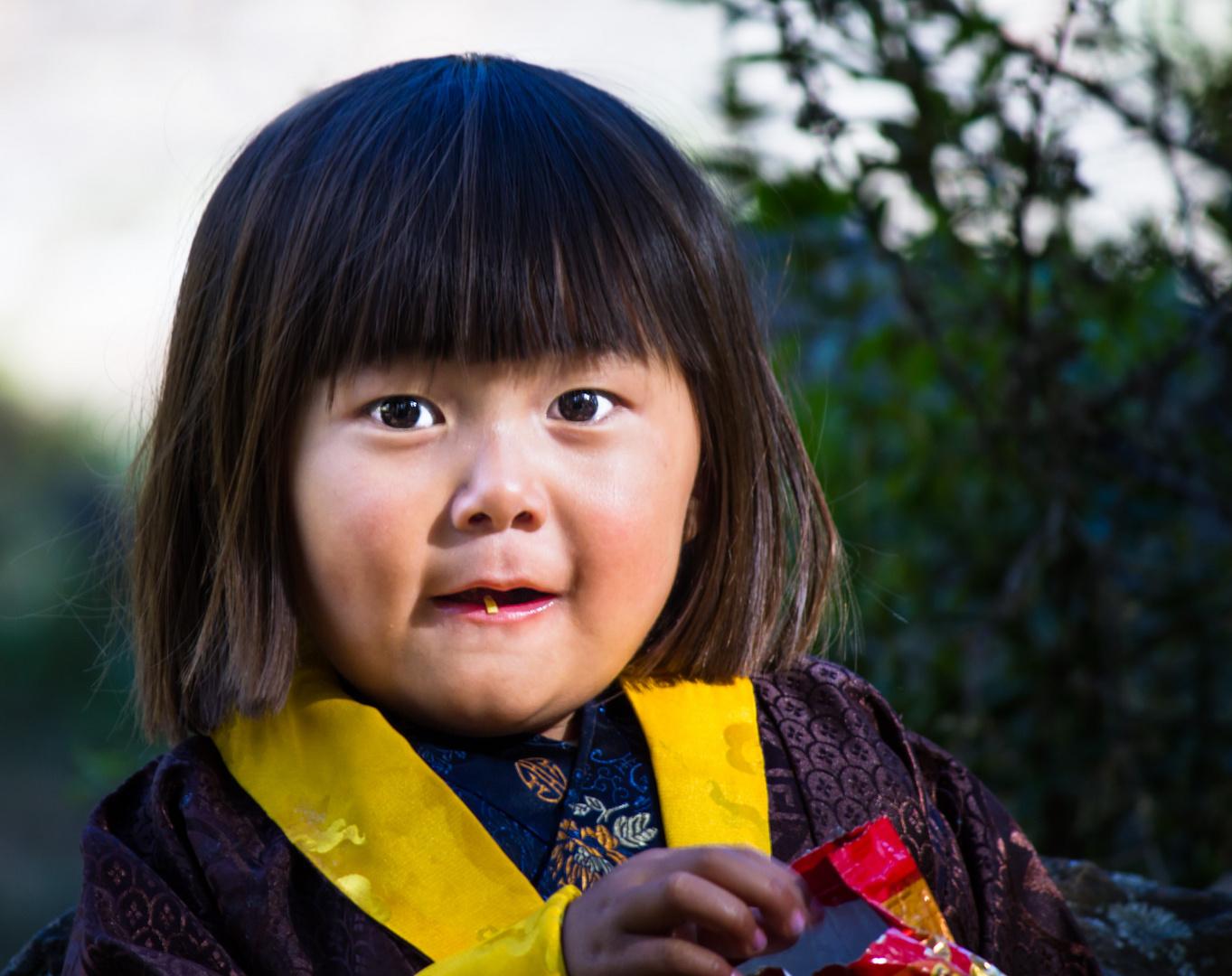 The face of Bhutan
