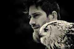 the falconer and his owl