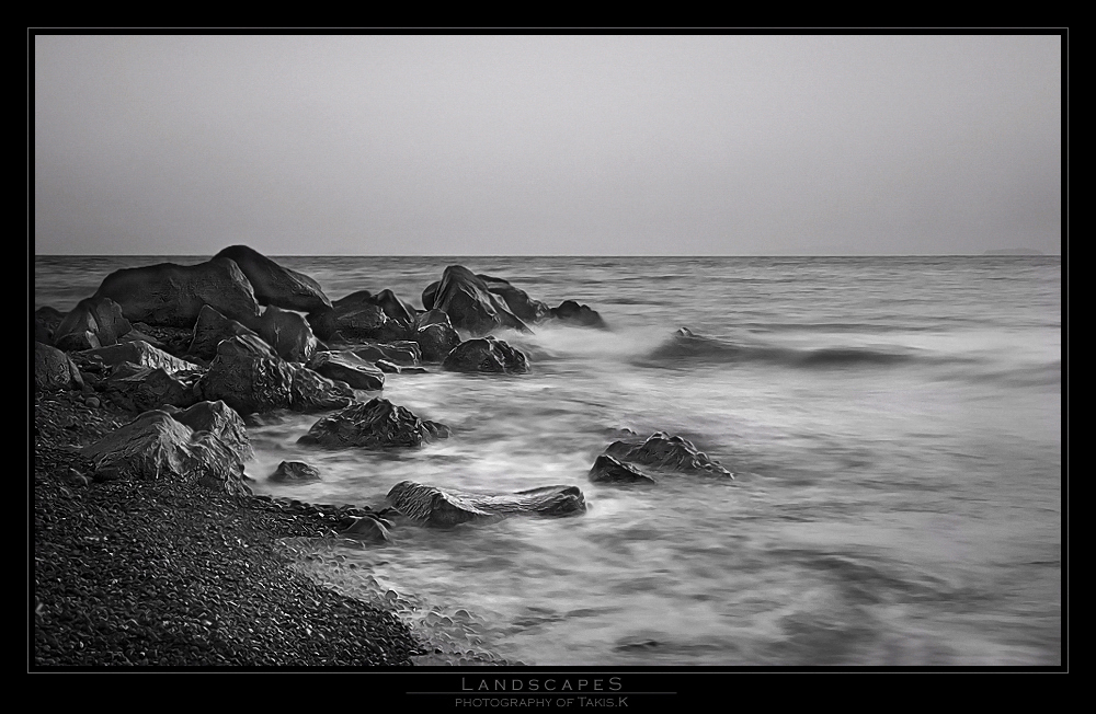 the first light in b/w
