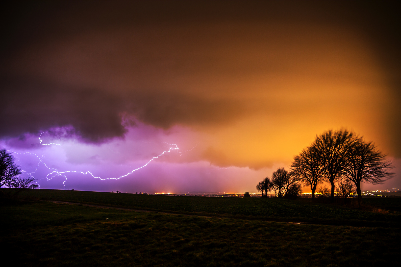 the first lightning