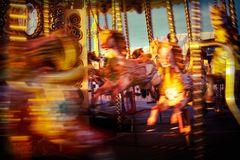 The Flaming Horses Of Brighton Pier