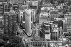 The Flatirons Building in New York City (Manhattan)