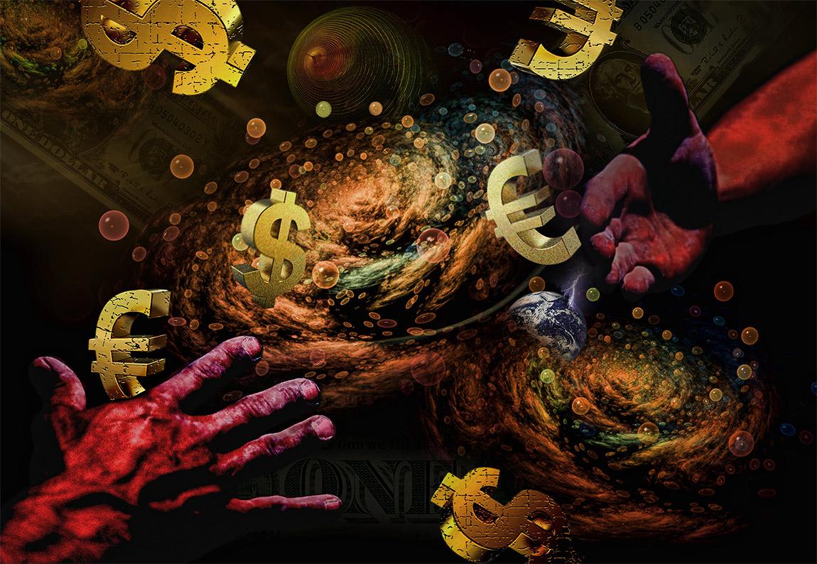 the gambler universe accelerates