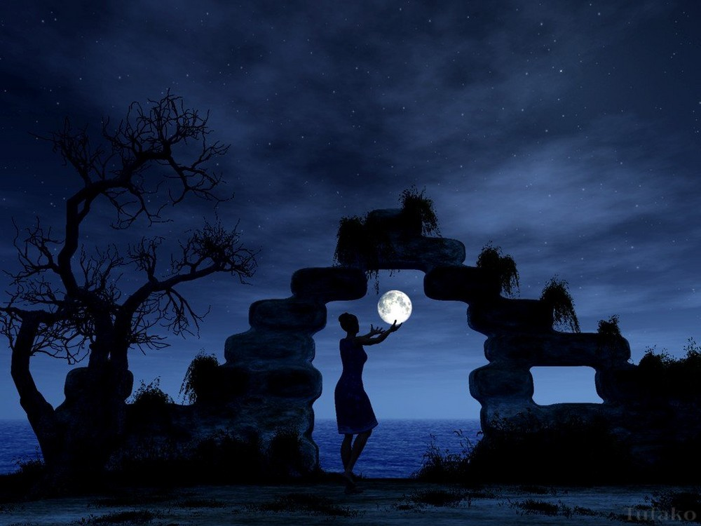 The gate of a Moon