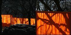 The Gates New York Leichtigkeit im Wind