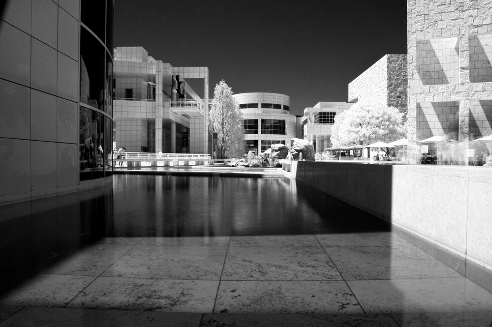 The Getty in IR