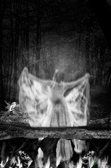 The ghost's ecape