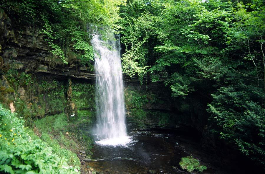 The Glencare Waterfalls...