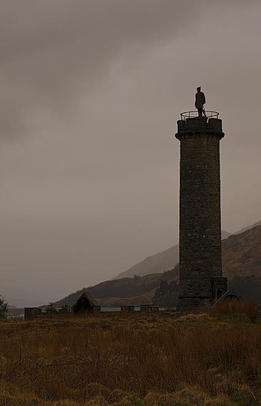 The Glenfinnan Monument...