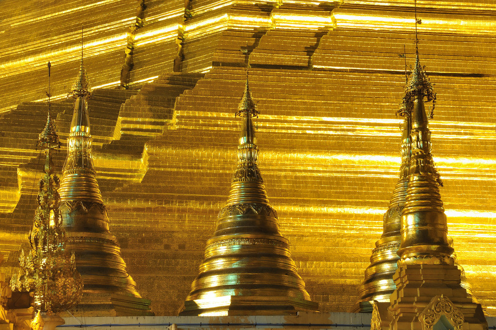 The Gold of the Shwedagon Pagoda