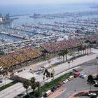 The Grand Prix Race in Long Beach, CA