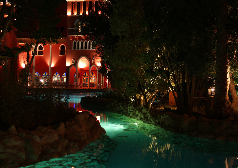 """The Grand Resort in Hurghada by night II"""